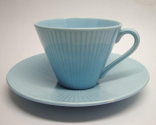 Kolorita, kaffekopp, ljusblå, Rörstrand